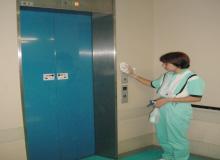 六面体・接触部位への清掃