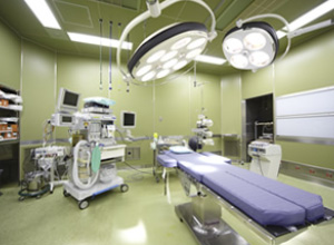 手術室(清潔区域)