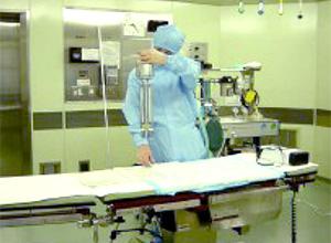 病院環境モニタリング測定