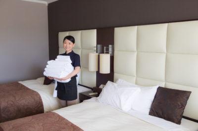 ホテル清掃員