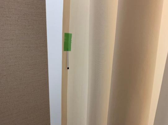 環境殺菌施工前後 インジケーター反応結果 放射線室