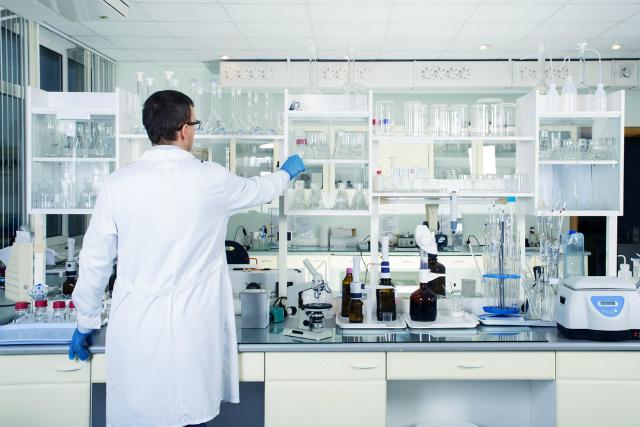 研究施設内の殺菌