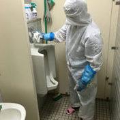 ノロウィルス消毒洗浄 / 給食共同調理場