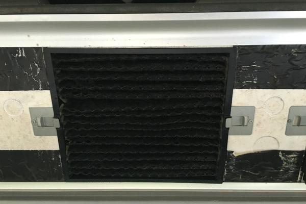 6面体無光温度触媒施工